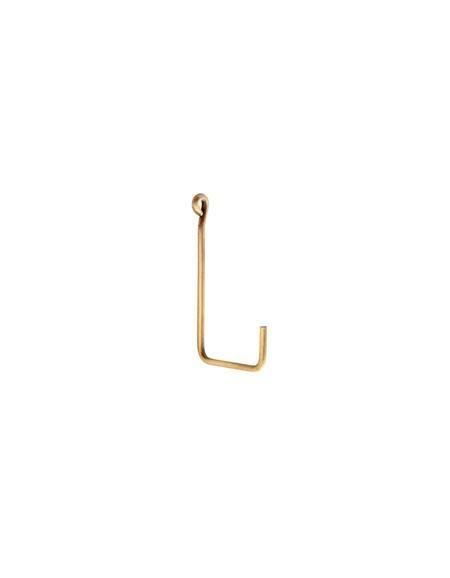 Fog Linen  Fog Linen Brass Single Hook Medium