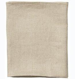 Fog Linen  Linen Waffle Towel Large Natural