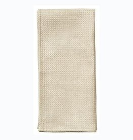 Fog Linen  Linen Waffle Towel Medium Natural