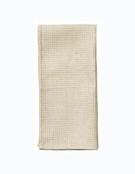Fog Linen  Fog Linen Linen Waffle Towel Medium Natural