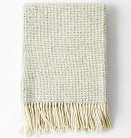 Mourne Textiles Silver Grey Woolen Blanket