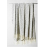 Mourne Textiles Mourne Textiles  Tweed Emphasize Blanket Silver Grey