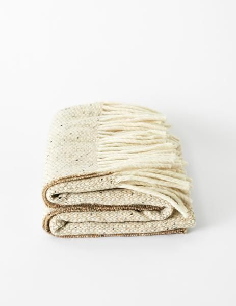 Mourne Textiles Mourne Textiles Tweed Emphasize Small / Childrens Blanket Marshmallow