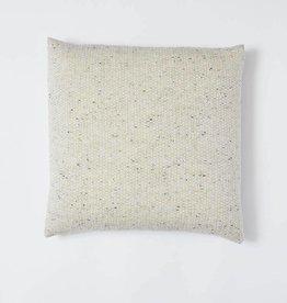 Mourne Textiles Oatmeal Woolen Pillow