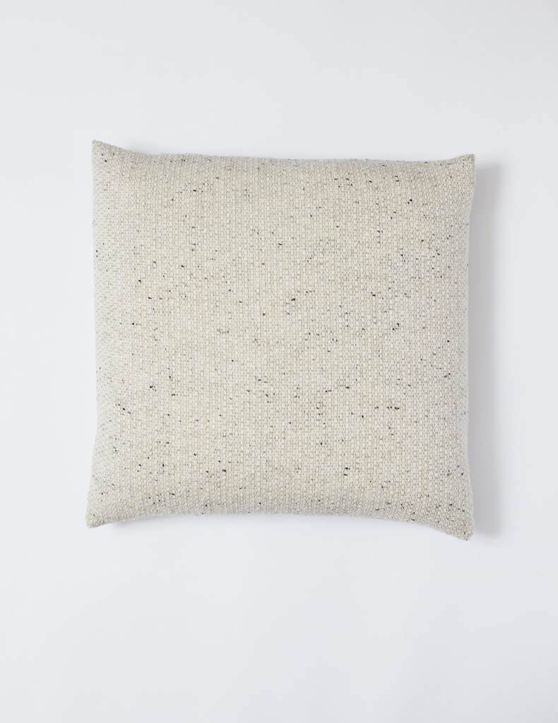 Mourne Textiles Mourne Textiles  Tweed Emphasize Pillow Oatmeal