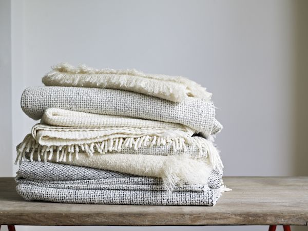 Mourne Textiles Mourne Textiles  Tweed Emphasize Pillow Silver Grey