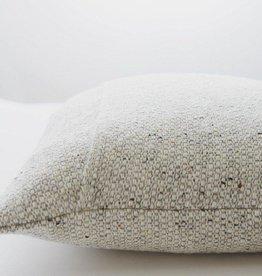 Mourne Textiles Silver Grey Woolen Pillow