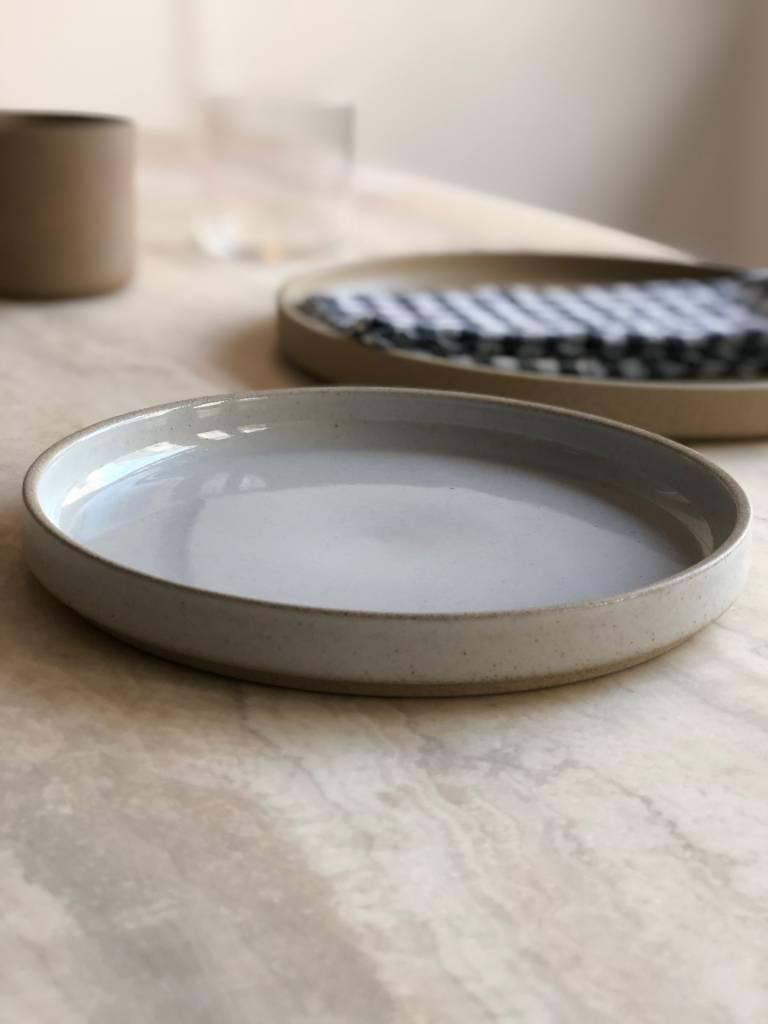 Hasami Porcelain Hasami Porcelain Breakfast Plate Gloss Gray