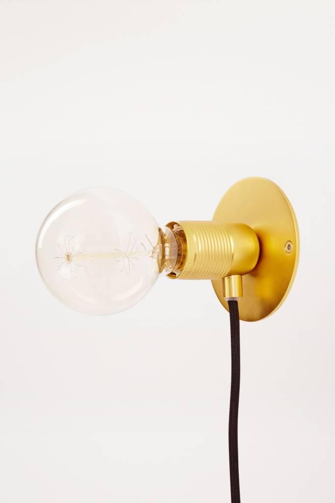 Frama Frama E 27 Brass Wall Lamp ø 25 cm