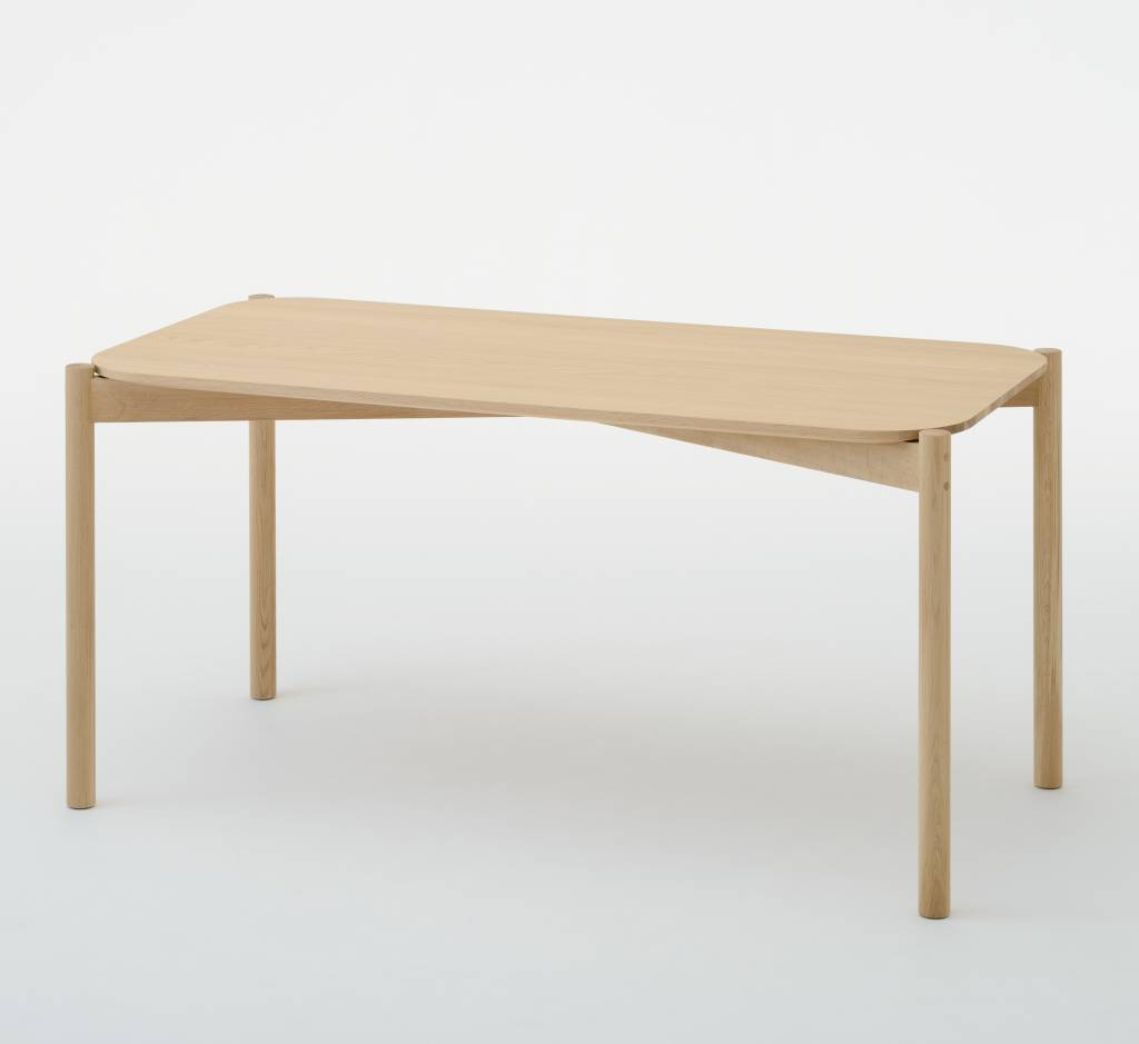 Karimoku New Standard Karimoku Oak Castor Table