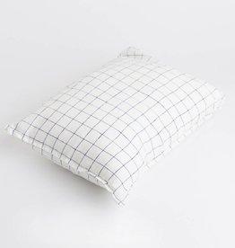 Linge Particulier  Cushion Cover 65 x 65 cm XL Navy & White Checks