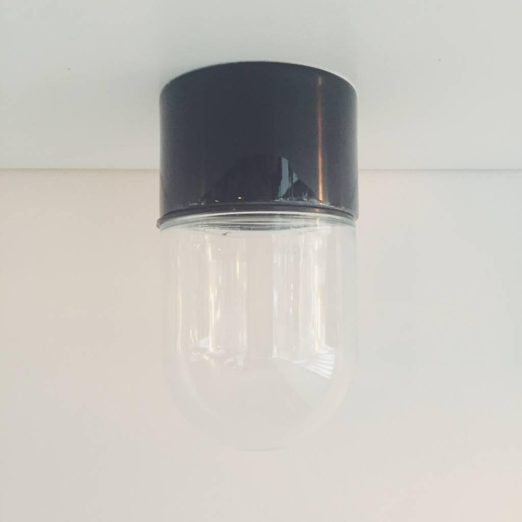 Black Porcelain Bathroom Wall Lamp