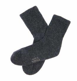 """Mongol Natur""  100% Yakwolle Yakwolle Socken - antrazit"