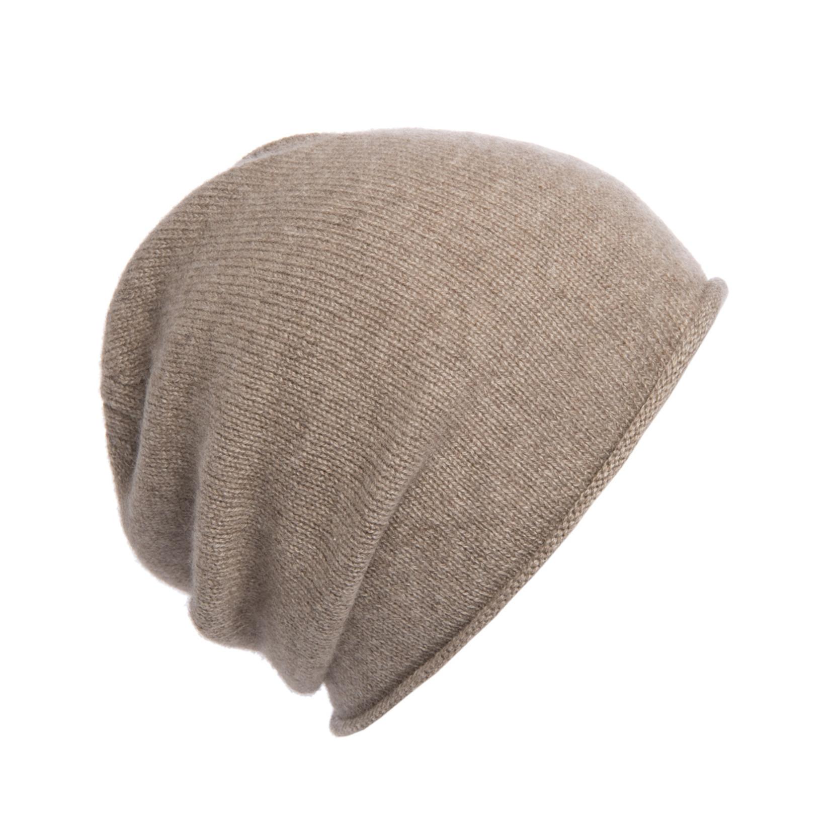 Odno - Mütze aus Yakwolle capuccino