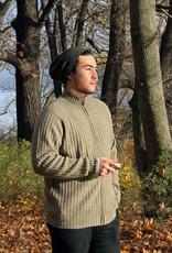 Mongol Natur Monkhoo - Strickjacke aus Kamelhaar