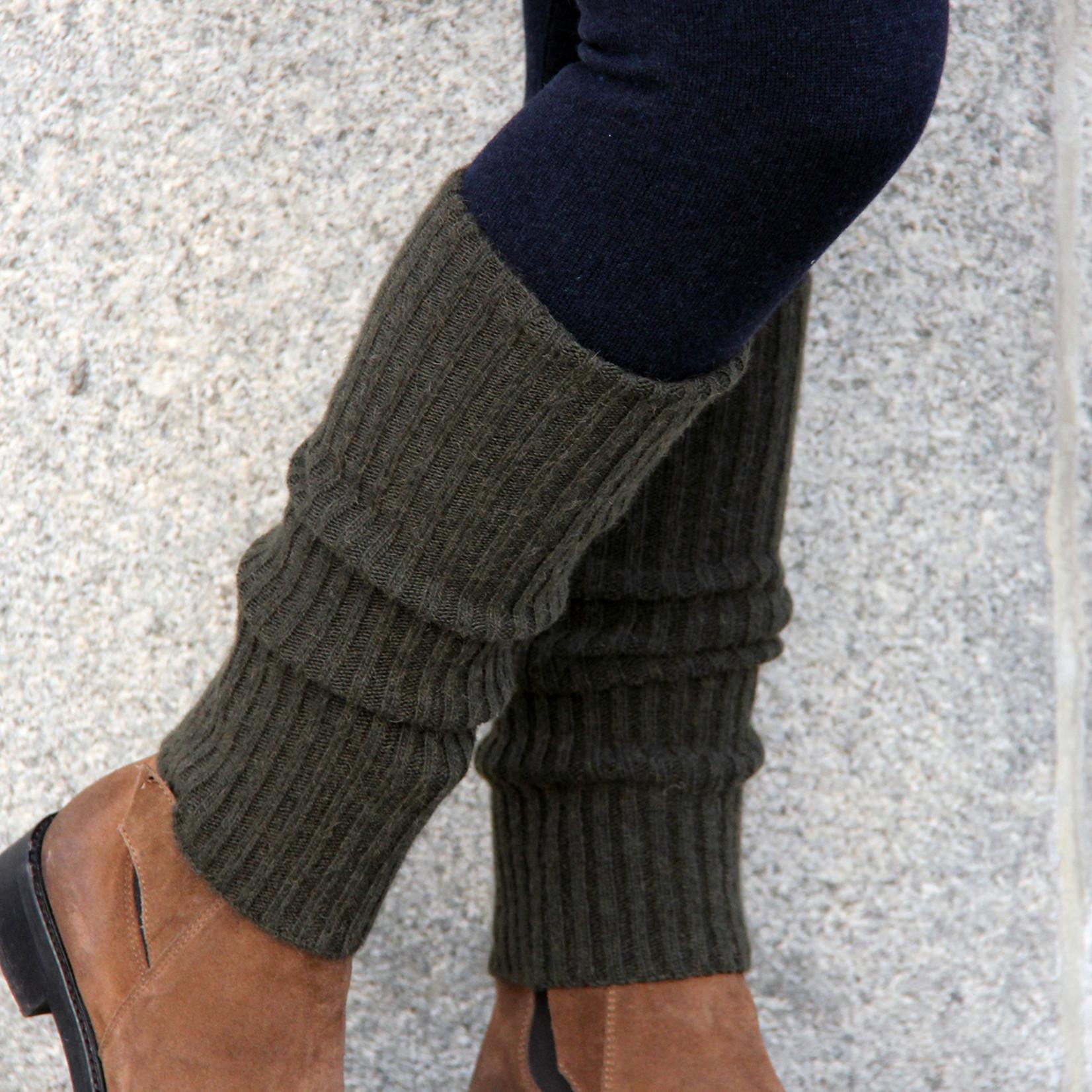 Enhe - Beinstulpen aus Yakwolle - 20 cm