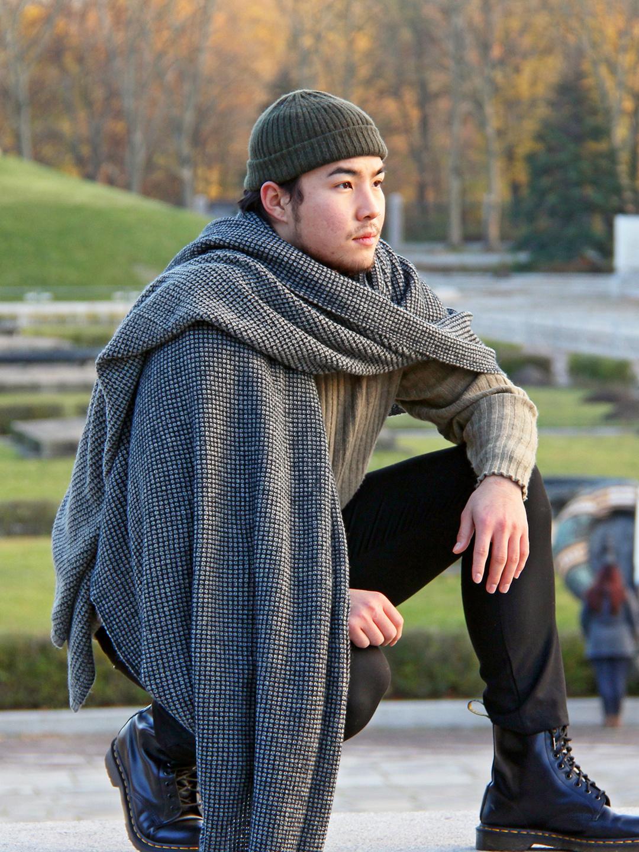 Mongol Natur Mongol Natur exklusive Tagesdecke Yakwolle