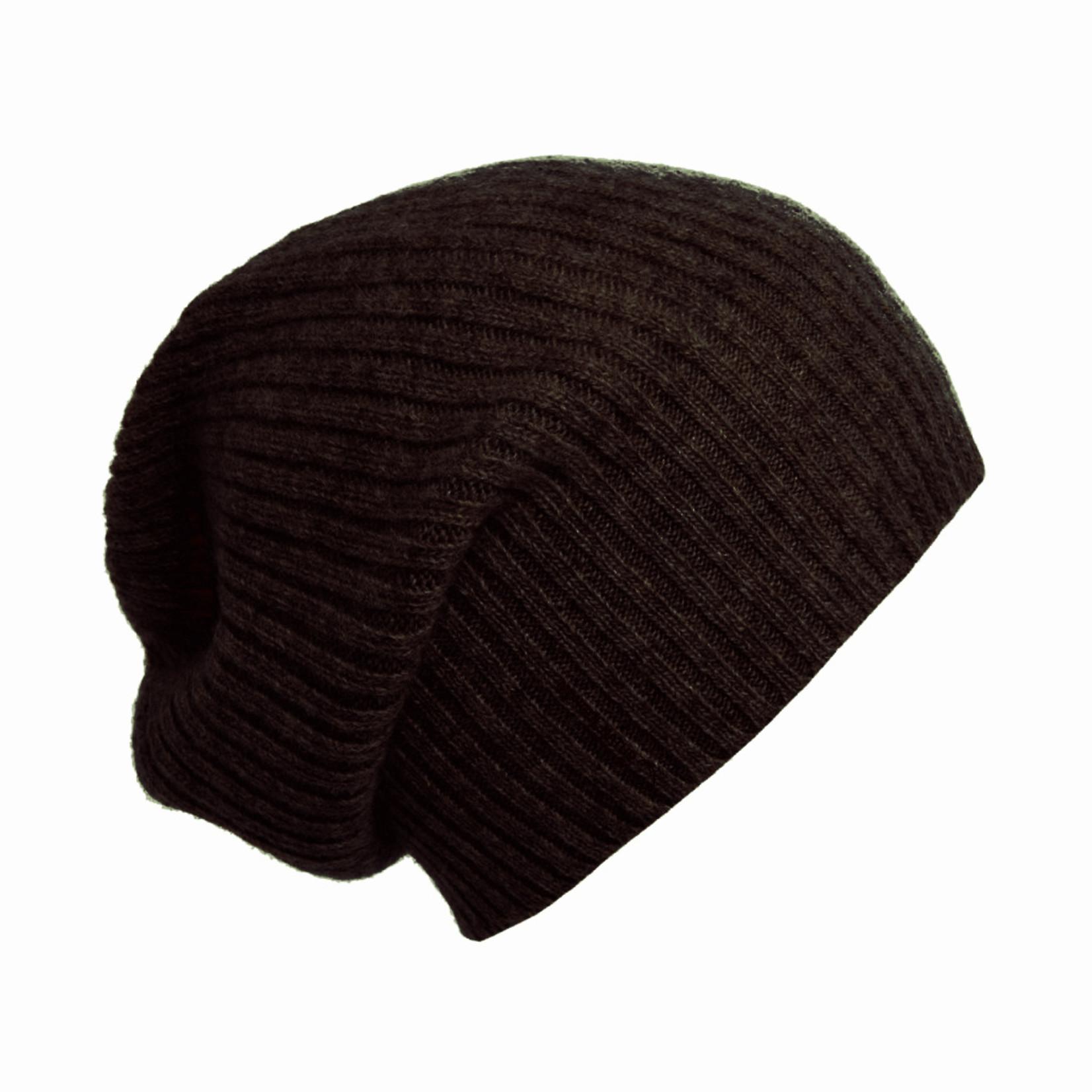 Odgo - Mütze aus Yakwolle  schokobraun