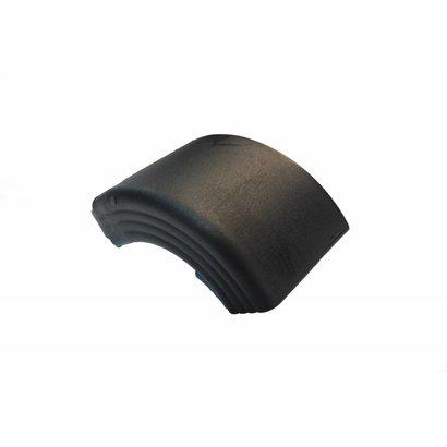 Zijafschermings voorhoek zwart Takler 100 mm hoog