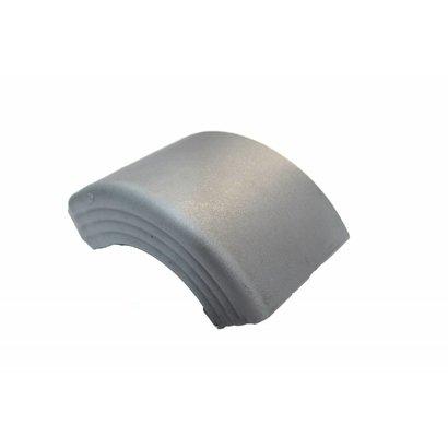 Zijafschermings voorhoek grijs Takler 100 mm hoog