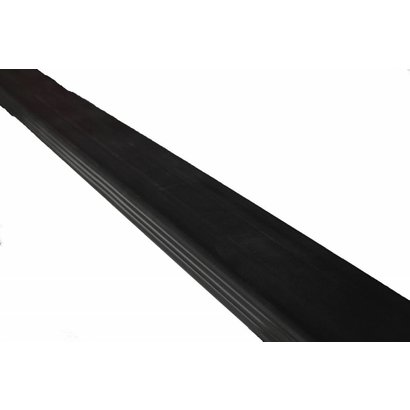 Zijafscherming zwart Takler lengte 5200 mm