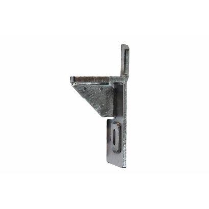 Stootblok staal verzinkt rechts, premium