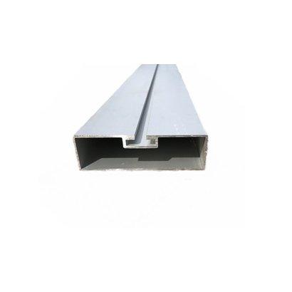 Zijafscherming plank aluminium 5200mm  100 x 30 mm