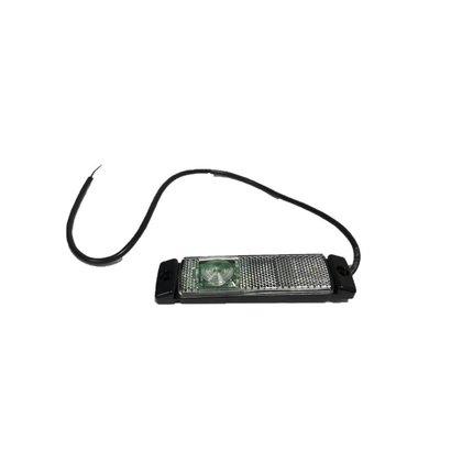 Positielamp wit LED 24v 0,5 mtr kabel open eind