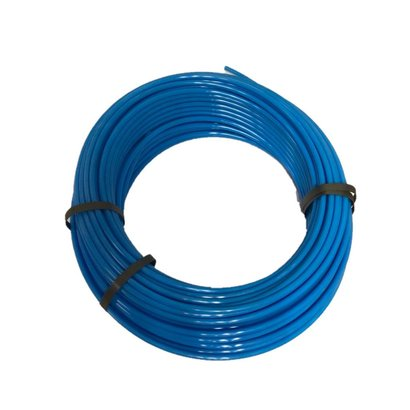 Kunststof remleiding blauw 8x1  1mtr