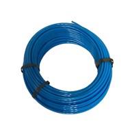 Kunststof remleiding blauw 8x1 100mtr
