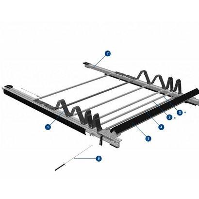 TSE Zeildak schuifbaar 13.620 / 13.660 mm