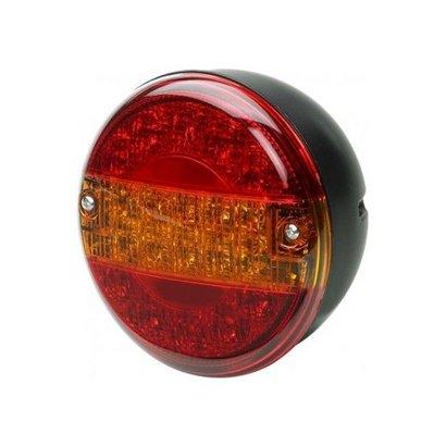 LED achterlicht 3K rond D=140 mm