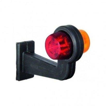 Pendellamp LED haaks model oranje/rood 24V