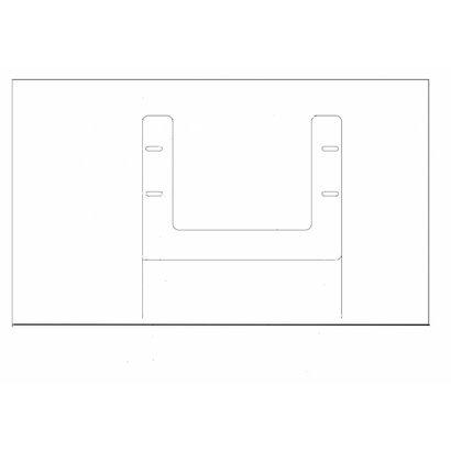 Draaibare lichtbak 330x240x4.5