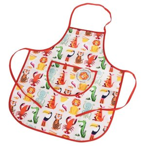 Rex London Childs apron Colourful Creatures