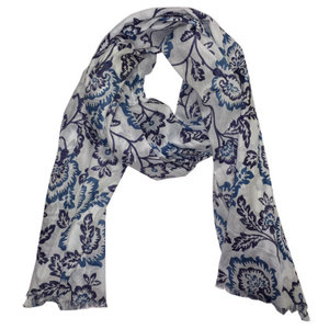 SALE Scarve/pareo Colourful blue