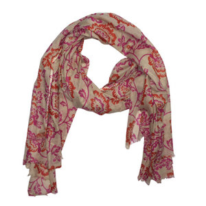 M&K Collection Scarf / Pareo Colorful pink