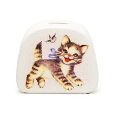 Kitsch Kitchen Money Bank Cat
