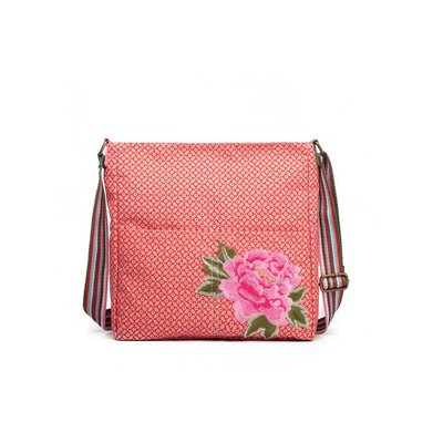 Blossify by Blossify Handtasche Cross-over Bag Geometric Rose red