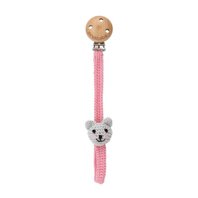 Sindibaba Pacifier clip with Cat Kitty