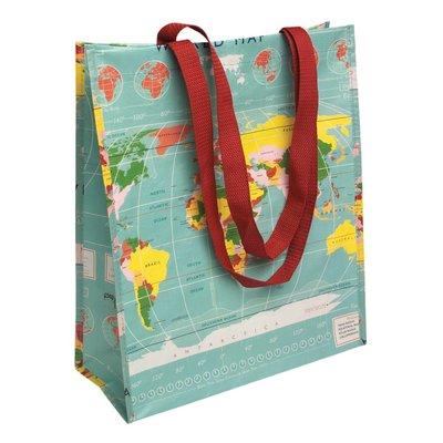 Rex London Einkaufstasche Worldmap