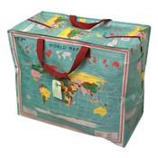 Rex London Jumbo bag / Storage bag World Map