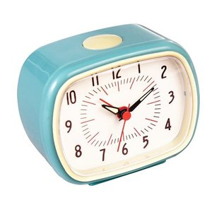 Rex London Retro Clock Blue