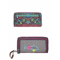 Happiness Wallet with sling  Belize Petrol