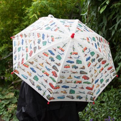 Rex London Childrens umbrella Vintage Transport