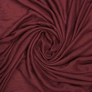 M&K Collection Schal Cotton/Wool burgundy