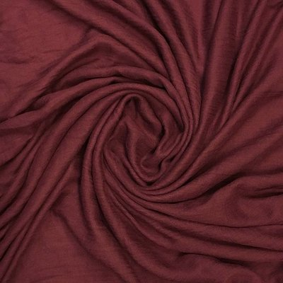 Pure & Cozy Schal Cotton/Wool burgundy