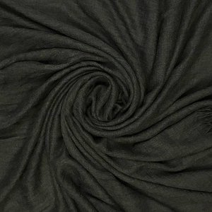 M&K Collection Scarf Cotton / Wool charcoal