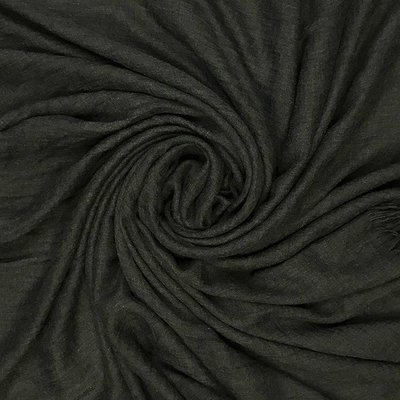 Pure & Cozy Scarf Cotton / Wool charcoal