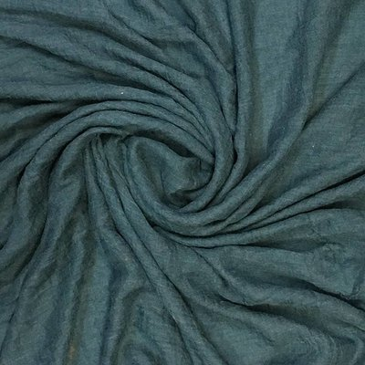 M&K Collection Scarf Cotton / Wool blue teal